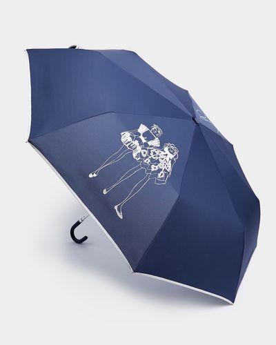 Paul Costelloe Living Studio Navy Lady Umbrella thumbnail