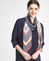multi Paul Costelloe Living Studio Lady Cannes Scarf