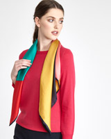 multi Paul Costelloe Living Studio Abstract Scarf
