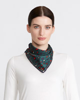 multi Paul Costelloe Living Studio Animal Scarf