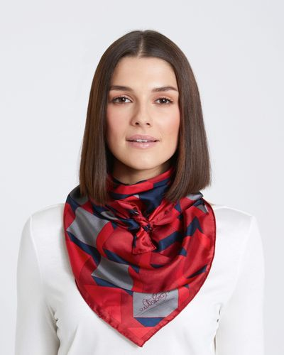 Paul Costelloe Living Studio Bordeaux Geo Scarf