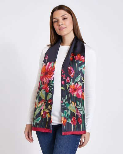 Paul Costelloe Living Studio Placement Floral Scarf