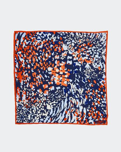 Paul Costelloe Living Studio Abstract Animal Silk Scarf