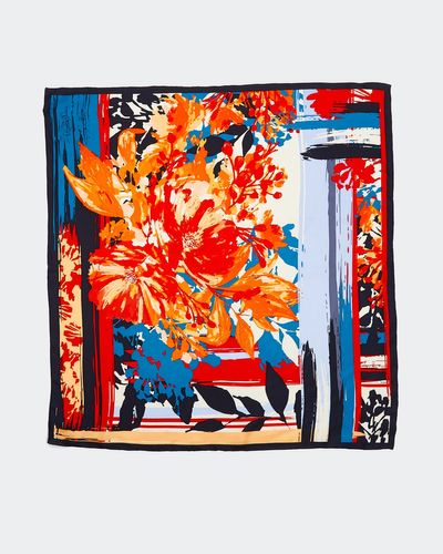 Paul Costelloe Living Studio Cinema Paradiso Silk Scarf