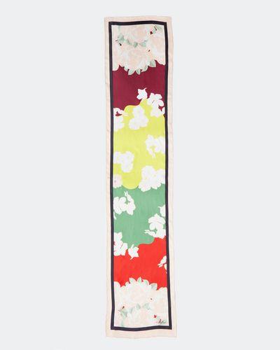 Paul Costelloe Living Studio Long Floral Silk Scarf