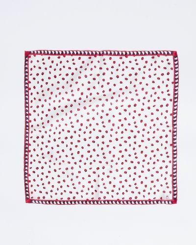 Paul Costelloe Living Studio Polka Dot Silk Scarf
