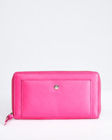 pink Paul Costelloe Living Studio Zip Wallet