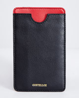 black Paul Costelloe Living Studio Phone Holder