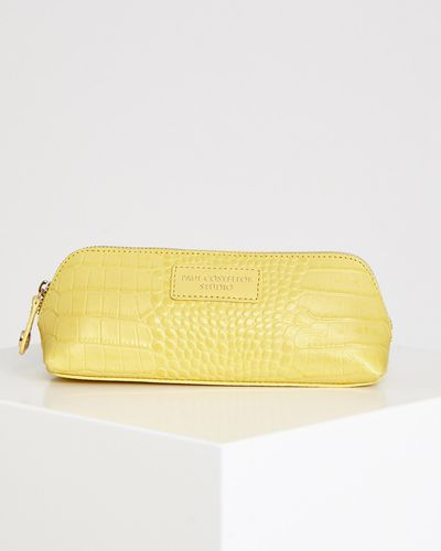 Paul Costelloe Living Studio Croc Embossed Pouch