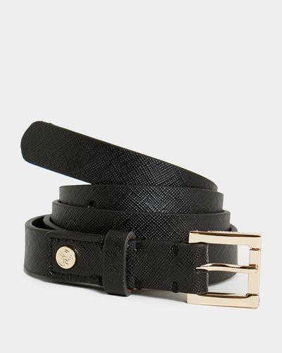 Paul Costelloe Living Studio Grained Leather Belt