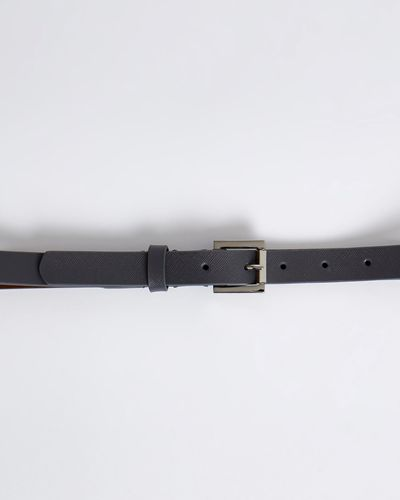 Paul Costelloe Living Studio Grained Leather Belt