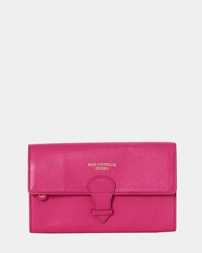 Paul Costelloe Living Studio Travel Wallet Pink