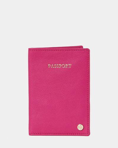 Paul Costelloe Living Studio Passport Holder Pink