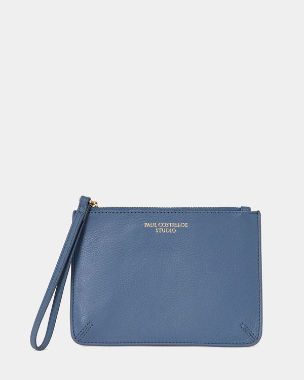 Paul Costelloe Living Studio Wristlet Bag Blue