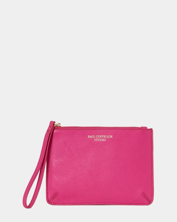 Paul Costelloe Living Studio Wristlet Bag Pink