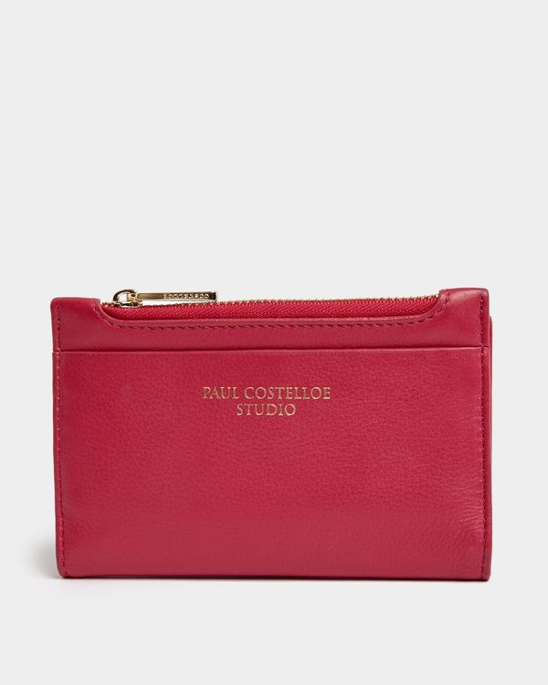 Paul Costelloe Living Studio Pink Leather Coin Purse