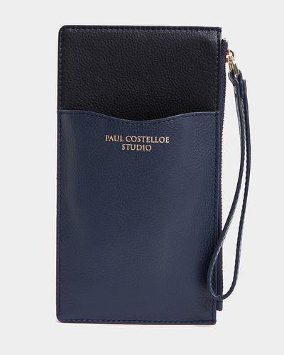 Paul Costelloe Living Studio Leather Phone Card Holder thumbnail