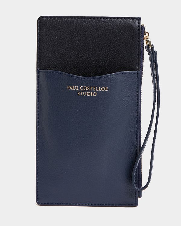 Paul Costelloe Living Studio Leather Phone Card Holder