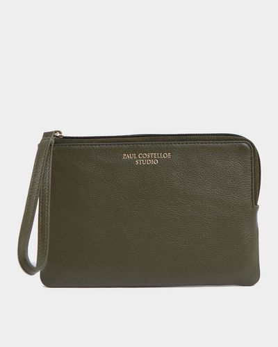 Paul Costelloe Living Studio Green Wristlet Bag