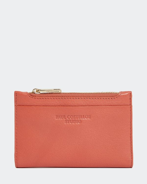 Paul Costelloe Living Studio Coral Leather Coin Purse