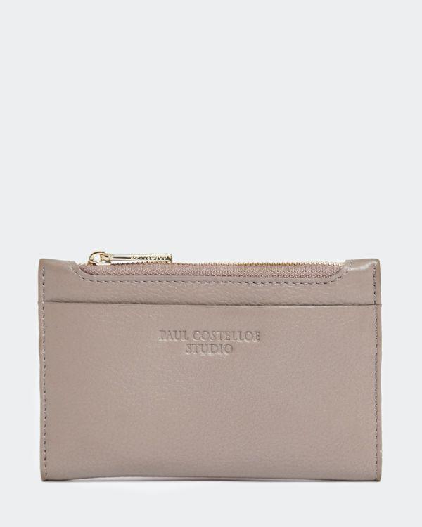 Paul Costelloe Living Studio Mink Leather Coin Purse