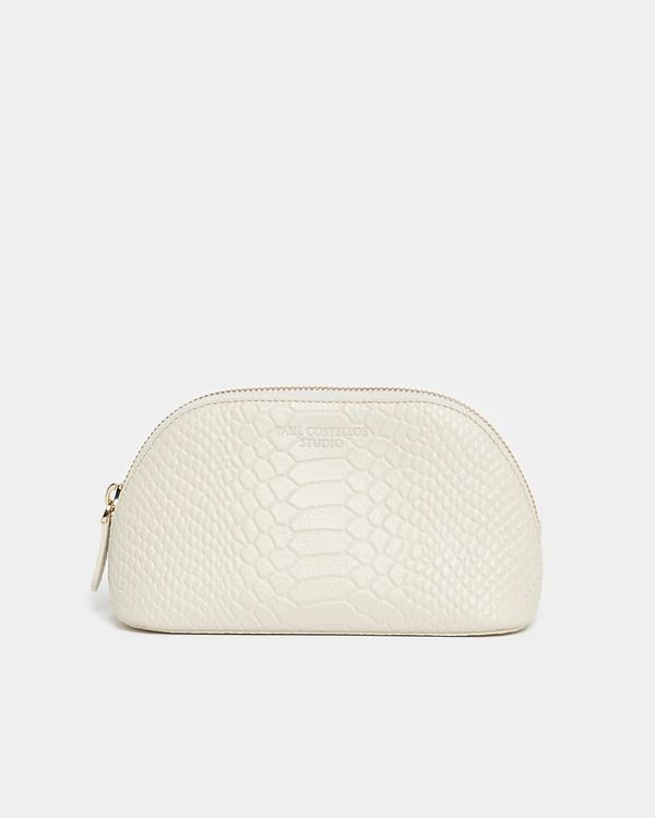 Paul Costelloe Living Studio Small Leather Cosmetic Bag