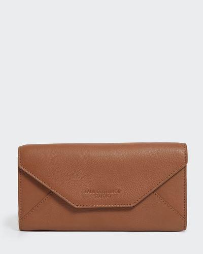 Paul Costelloe Living Studio Tan Leather Wallet