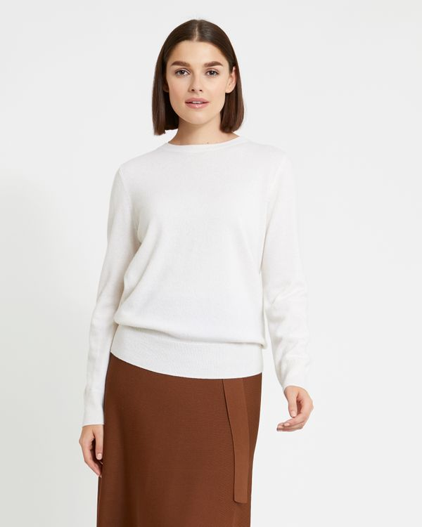 Paul Costelloe Living Studio Cashmere Crew-Neck Jumper