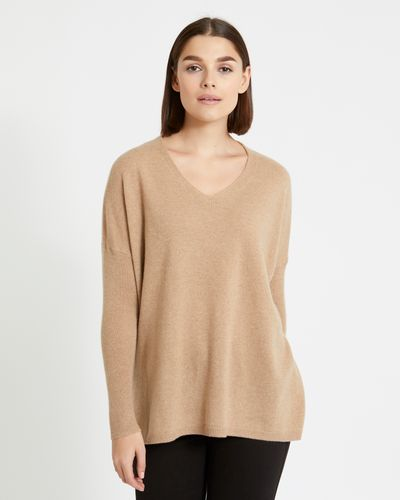 Paul Costelloe Living Studio Cashmere V-Neck Jumper thumbnail