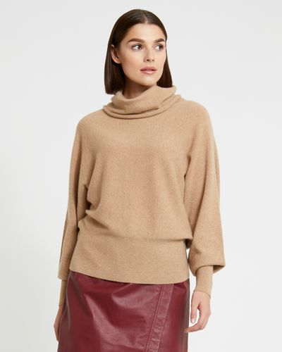 Paul Costelloe Living Studio Pure Cashmere Cowl Neck Jumper