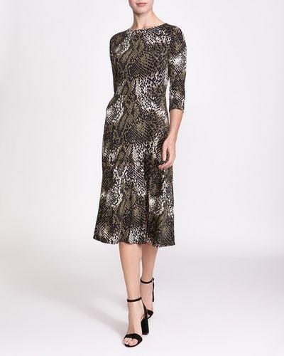 Printed Midi Dress thumbnail