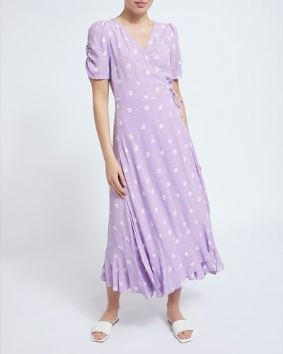 Wrap Midi Dress thumbnail