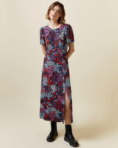 Round Neck Jersey Dress thumbnail