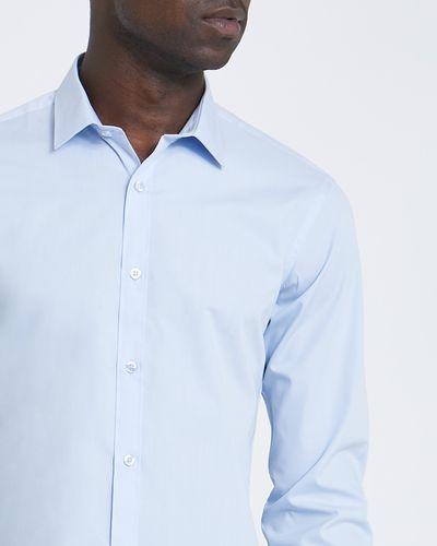 Slim Fit Long-Sleeved Cotton Rich Shirt thumbnail