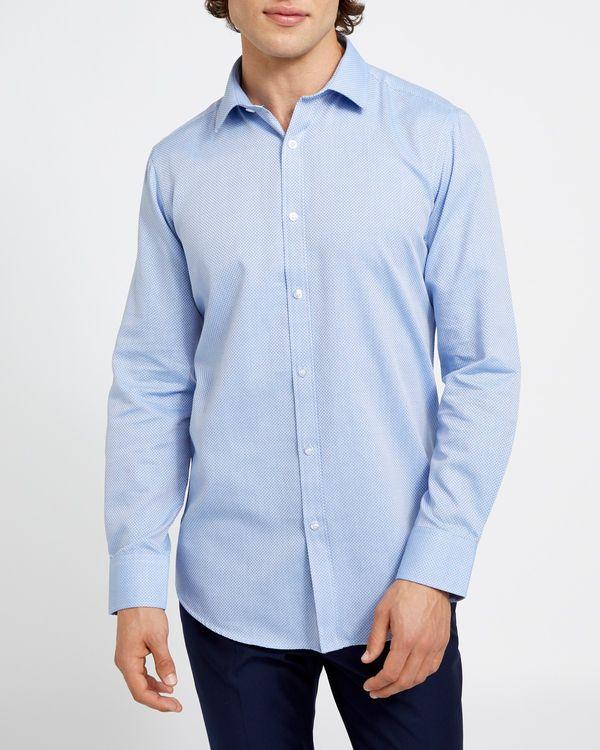 Slim Fit Cotton-Rich Shirt