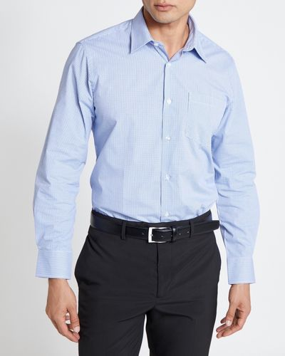 Regular Fit Long-Sleeved Cotton Rich Design Shirt thumbnail