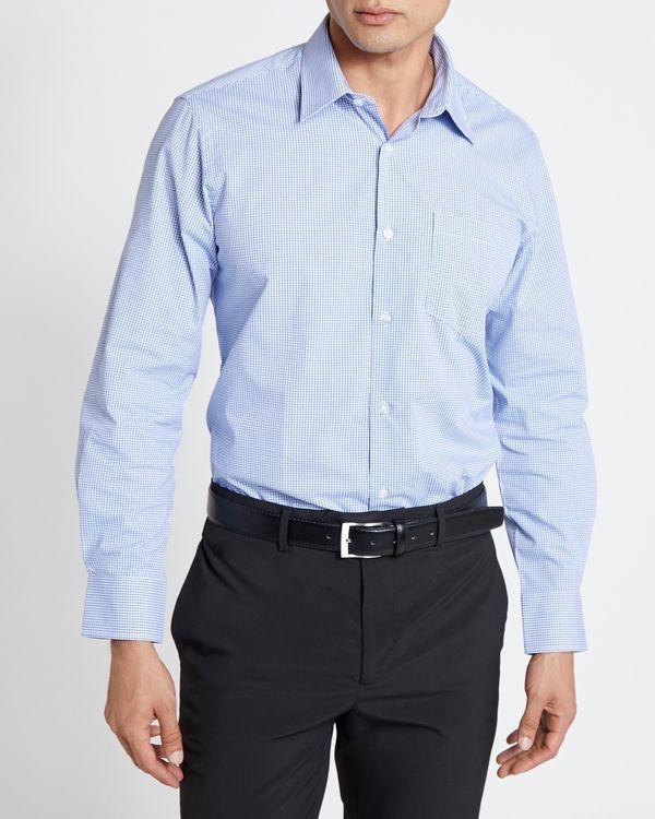 Regular Fit Long-Sleeved Cotton Rich Design Shirt