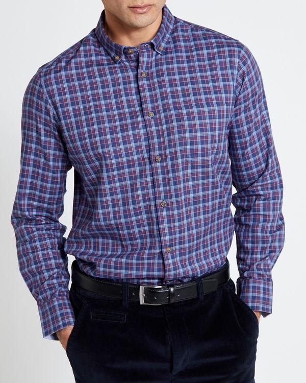 Luxury Smart Check Shirt
