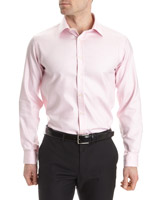 pink Slim Fit Non Iron Shirt