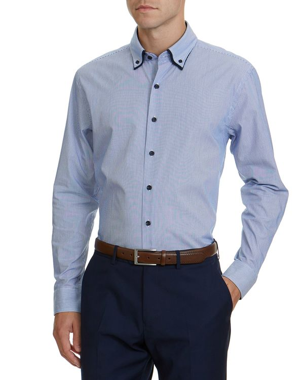 Regular Fit Double Collar Shirt