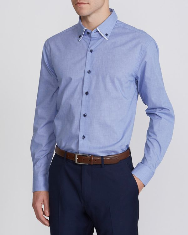 Regular Fit Double Collar Shirt