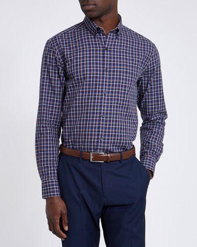 Regular Fit Luxury Smart Check Shirt