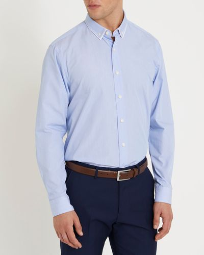 Regular Fit Luxury Smart Collar Shirt