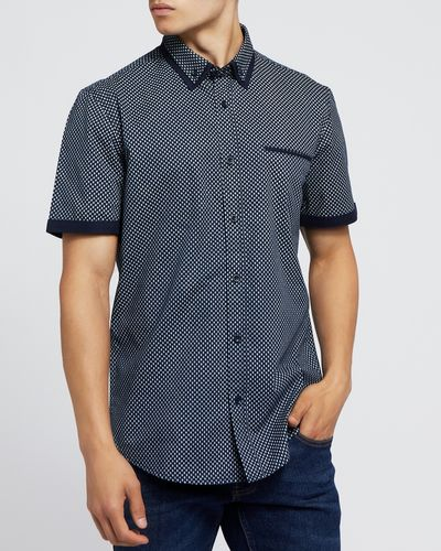 Short-Sleeved Regular Fit Fashion Shirt thumbnail