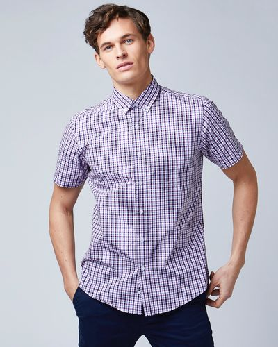 Regular Fit Short-Sleeved Shirt