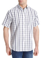 lilac-check Regular Fit Soft Touch Shirt