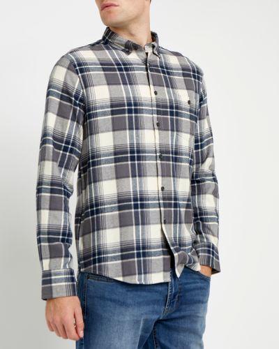 Regular Fit Brushed Check Shirt thumbnail