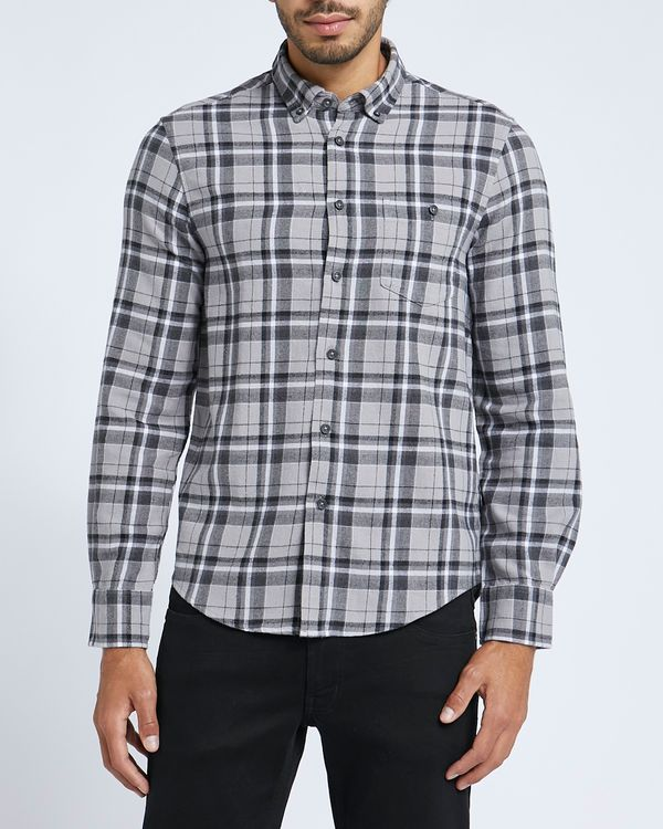 Regular Fit Brushed Check Shirt