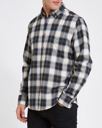 Regular Fit Long-Sleeved Lightweight Flannel Shirt thumbnail