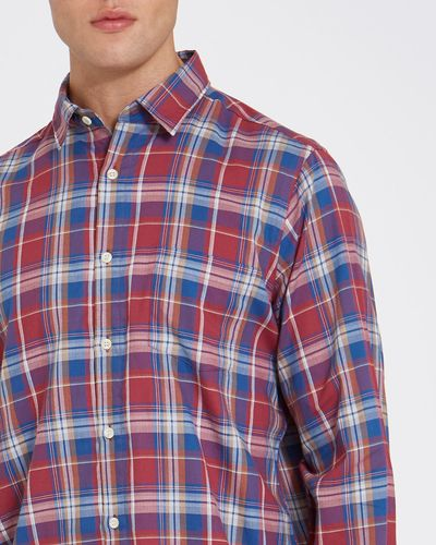 Regular Fit Long-Sleeved Lightweight Flannel Shirt thumbnail